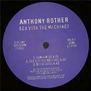 Scarica Anthony Rother - Sex With The Machines Gratis