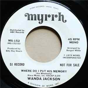 Scarica Wanda Jackson - Where Do I Put His Memory Gratis